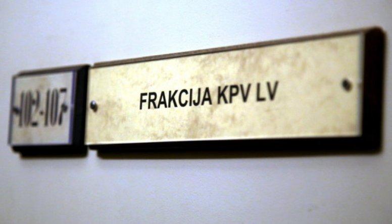 """""""KPV LV"""" frakcija izjuks, prognozē Kūtris"""