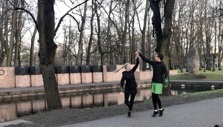Kā dejotāji uztur sevi formā?