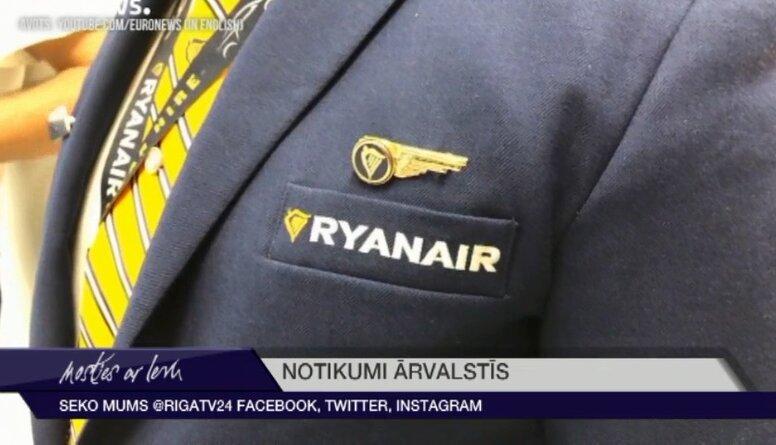"""""""Ryanair"""" piloti gatavojas rīkot streikus Lielbritānijā"""