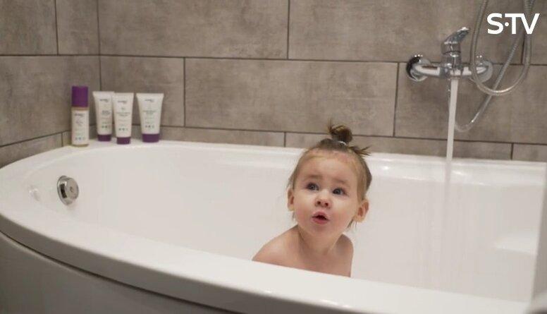 Vannošanās rituāls un būtiskais mazuļa higiēnā