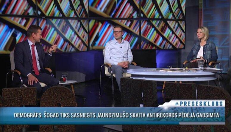 Armands Krauze par demogrāfijas problēmām Latvijā
