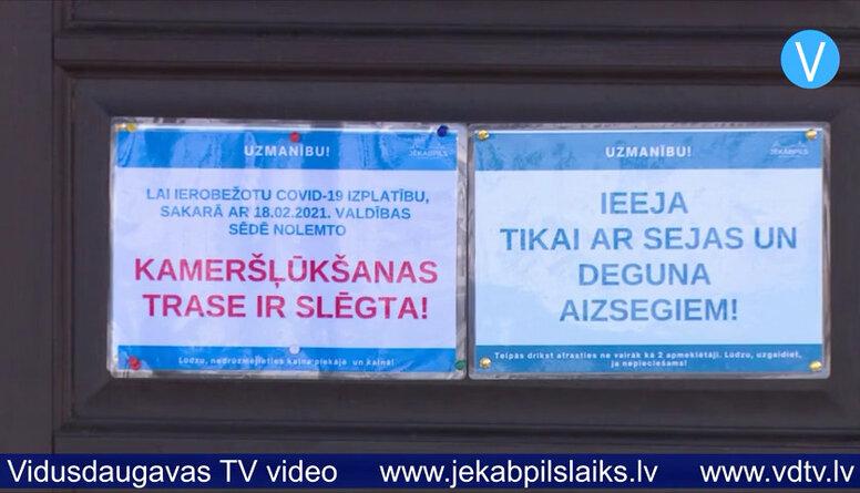 Valdība Latvijā aizliedz kameršļūkšanu
