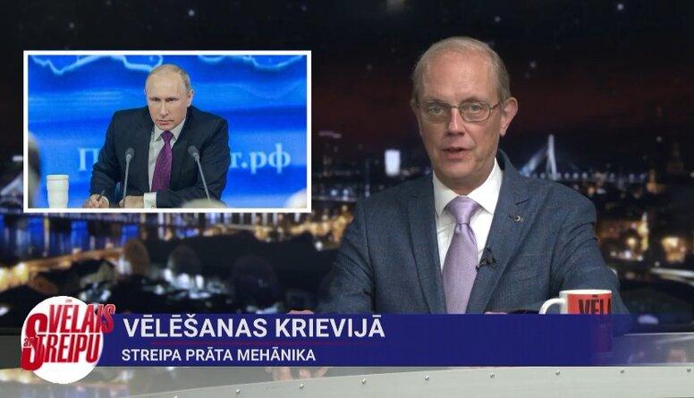Streipa prāta mehānika: vēlēšanas Krievijā