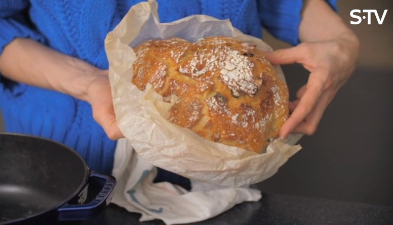 Čuguna katlā ceptas maizes recepte