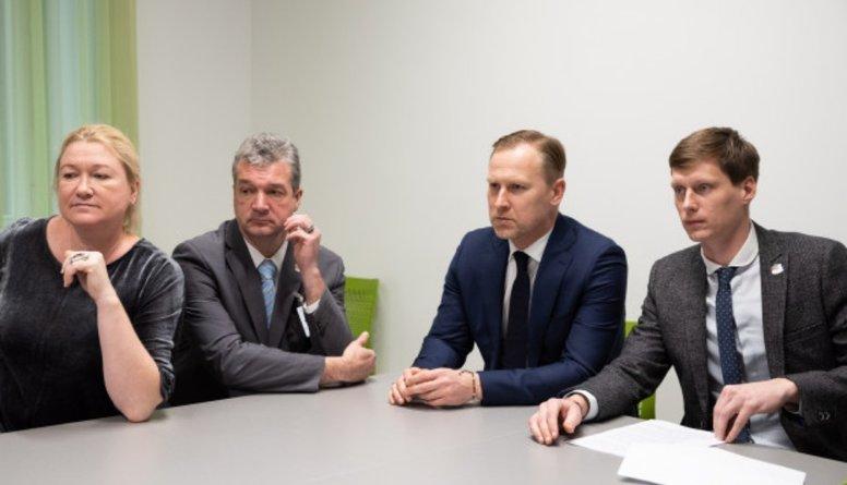 """Viņķele: Vētras no sarunu telpas pārceļojušas uz """"KPV LV"""" frakciju"""