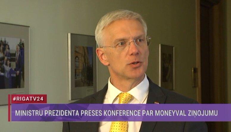 Speciālizlaidums: Ministru prezidents par Moneyval ziņojumu
