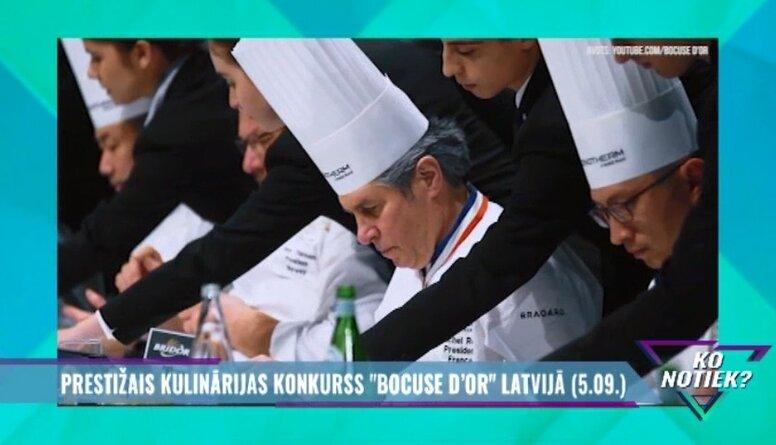 """Prestižais kulinārijas konkurss """"Bocuse D`or"""" Latvijā"""