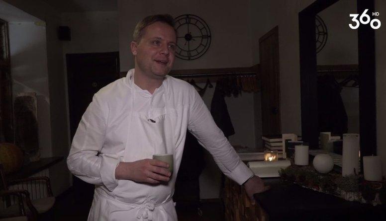Valters Zirdziņš stāsta par savu restorānu
