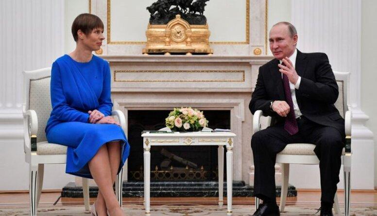 Igaunijas prezidente uzaicinājusi Putinu uz Igauniju. Komentē Inkēns