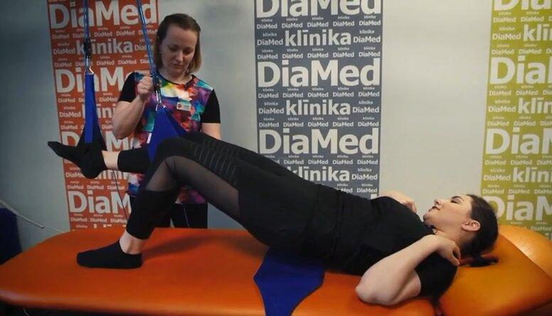 Slinga terapija kā efektīva sāpju mazināšanas metode