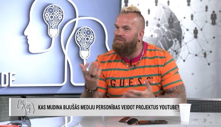 Kādi cilvēki piekrīt piedalīties Andra Kiviča YouTube projektā?