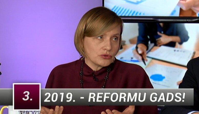 Aizsilniece: Kā mainās valdība, tā reformējam reformas