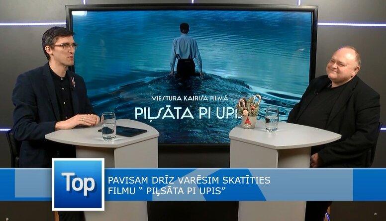 """Dainis Platacis par savu lomu filmā """"Piļsāta pi Upis"""""""