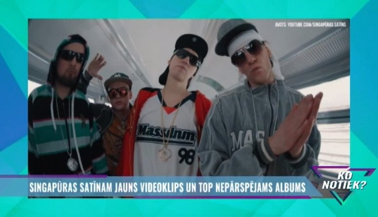 """""""Singapūras satīnam"""" jauns videoklips un top nepārspējams albums"""
