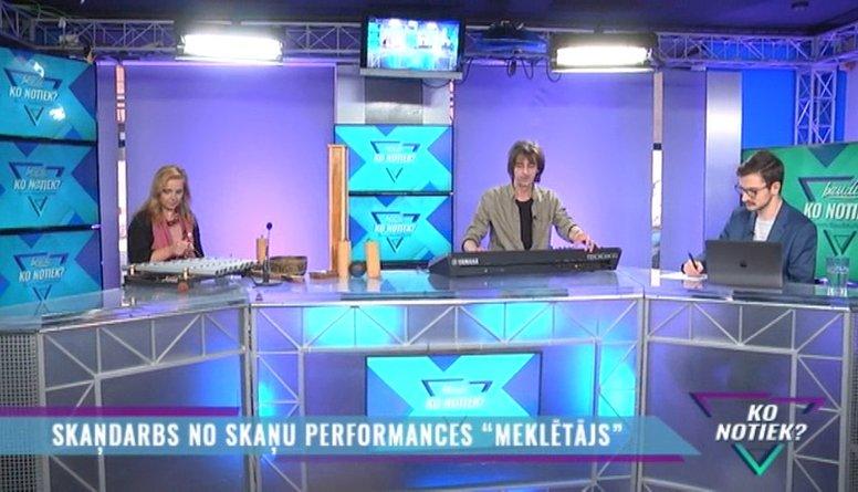 """Skaņu performance """"Meklētājs"""" visā Latvijā"""