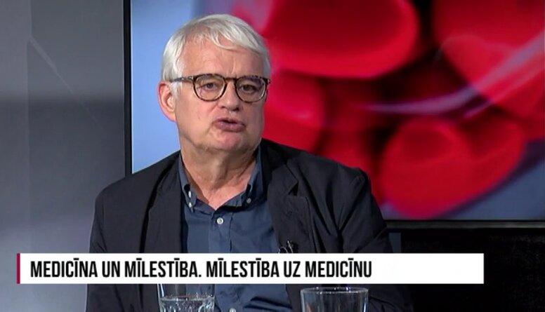 Zakke: Nav nemaz tik slikti, ka ārsti daudz strādā