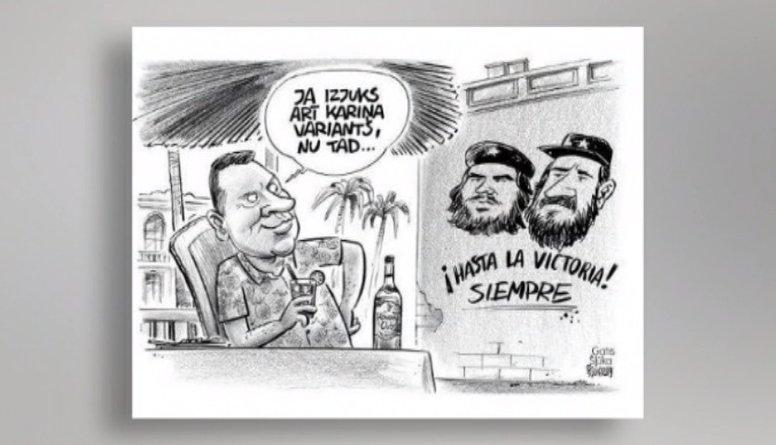 Ieskaties! Karikatūra par valstī notiekošo