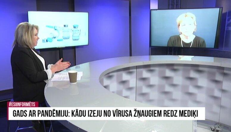 Ludmila Vīksna par Latvijas zinātnieku pēdējiem sasniegumiem saistībā ar Covid-19