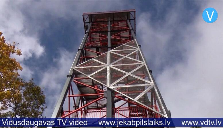 Atklāj Taborkalna skatu torni