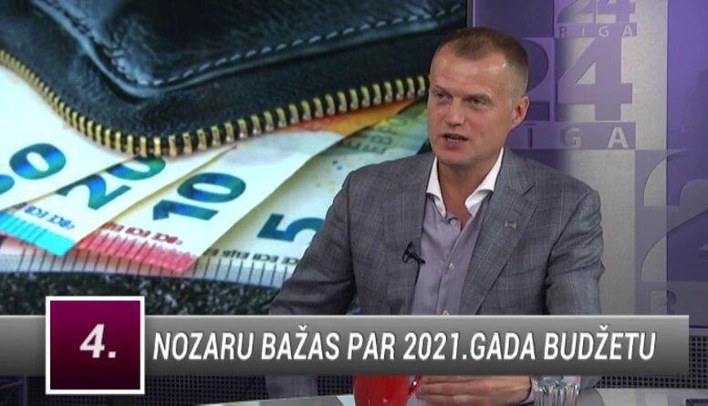 Ivars Zariņš komentē nozaru bažas par 2021. gada budžetu