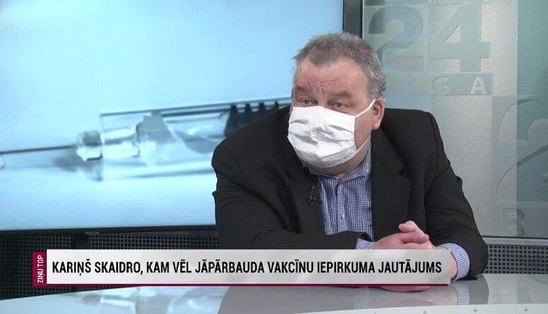 Aigars Freimanis par vakcīnu iepirkuma pārbaudēm