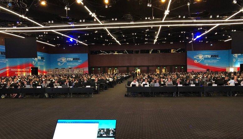 Latvija piedalījusies Pasaules radiosakaru konferencē WRC-19