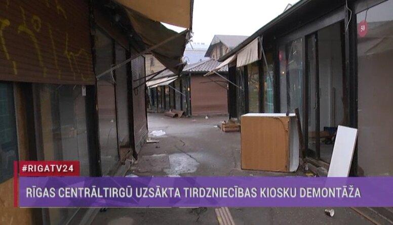 Burovs: RCT kiosku demontāža plānota līdz marta beigām