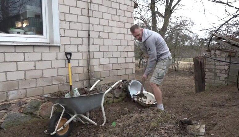 Magone plāno mājas apkārtnes uzkopšanas darbus