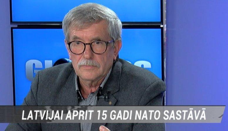Indulis Emsis par laiku, kad Latvija iestājās NATO