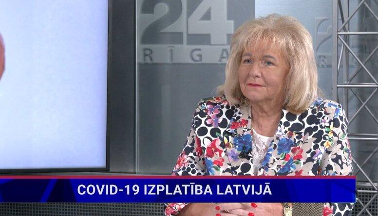Baiba Rozentāle par Remdesivir izmantošanu Covid-19 ārstēšanā