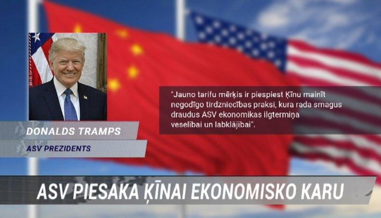 Iespējamie labumi Eiropas Savienībai no ASV un Ķīnas ekonomiskā kara