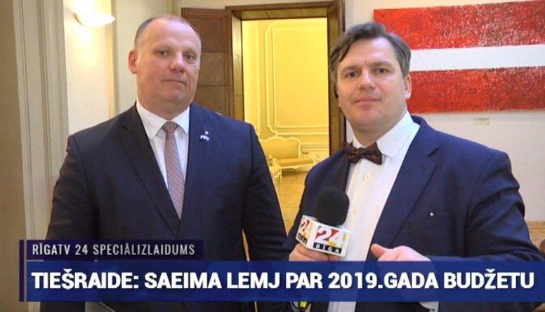 Speciālizlaidums: Saeima lemj par 2019. gada valsts budžetu 9. daļa