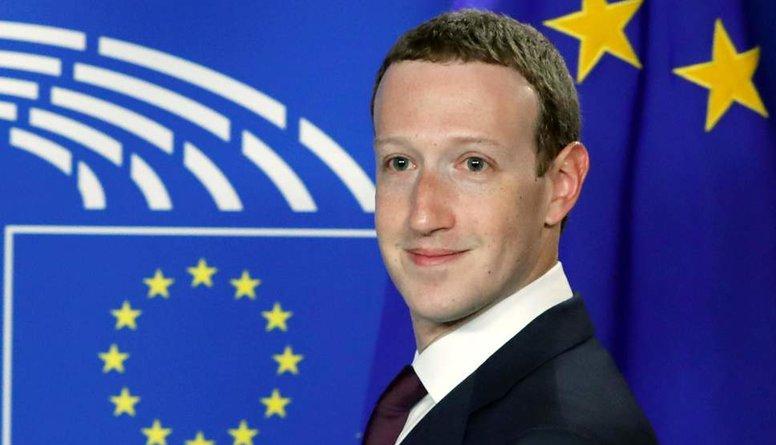 """""""Facebook"""" dibinātājs ietekmējis """"Brexit"""" referenduma iznākumu?"""