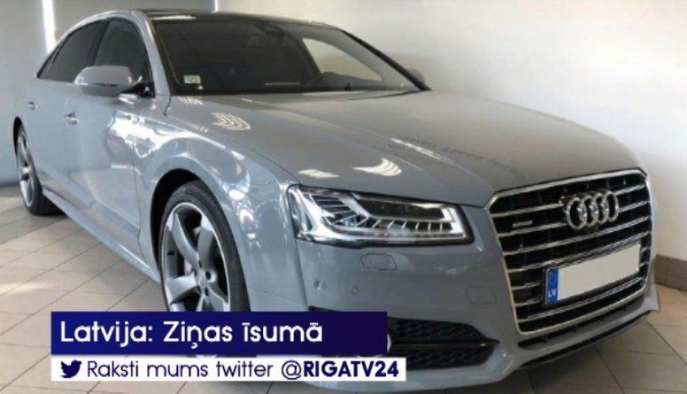 Latvijas Banka pārdod Rimšēviča teju 80 000 eiro vērto Audi A8L