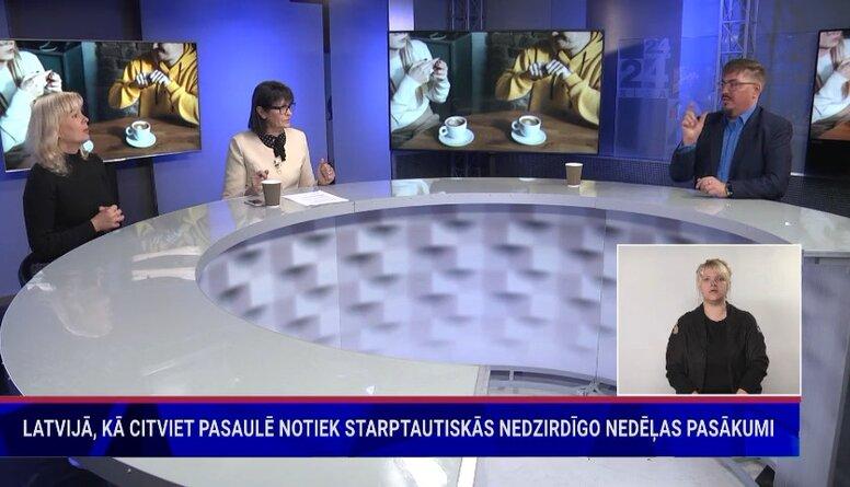 Latvijā, kā citviet pasaulē notiek Starptautiskās nedzirdīgo nedēļas pasākumi