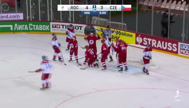 Spilgtākie momenti: Krievija pret Čehiju