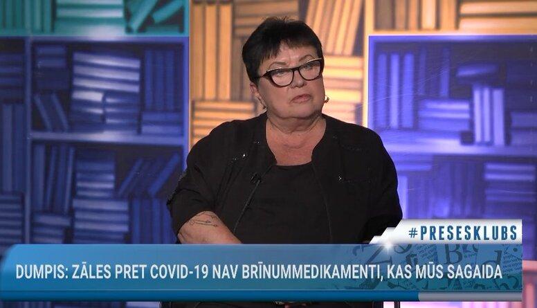 Elita Veidemane: Visiem pensionāriem vajadzētu piešķirt naudu