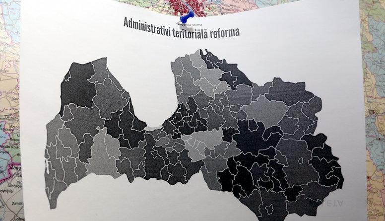 Reģionālā reforma ir politisku mērķu virzīta, uzskata Krauze