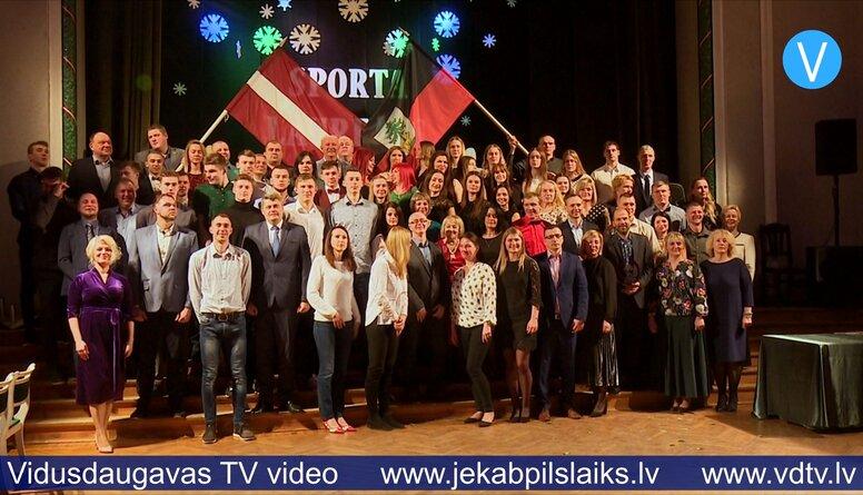 28.01.2020 Jēkabpilī apbalvoti 2019. gada sporta laureāti