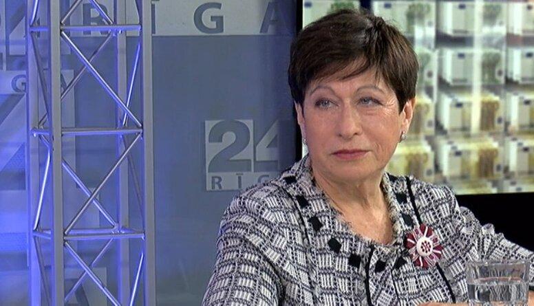 Inna Šteinbuka par kandidēšanu Latvijas Bankas prezidenta amatam