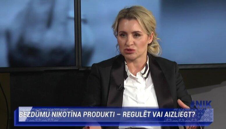 Karina Plaude: Ražotāji un tirgotāji ir par to, ka ar akcīzi jāapliek bezdūmu nikotīna produkti