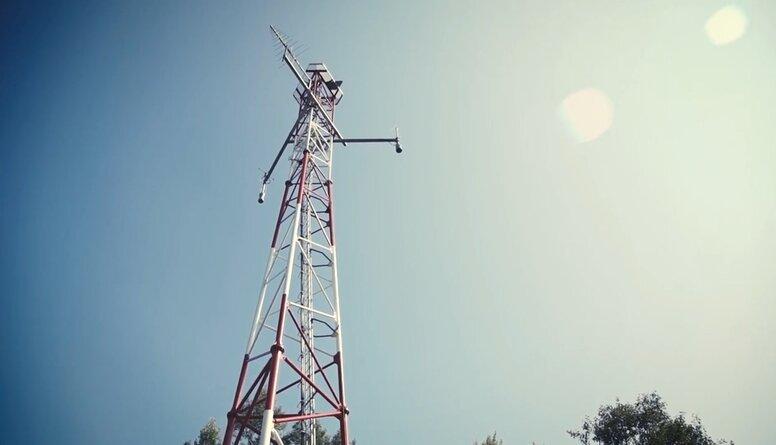 """VAS """"Elektroniskie sakari"""" par radiomonitoringa torņa būvniecību Grobiņā"""