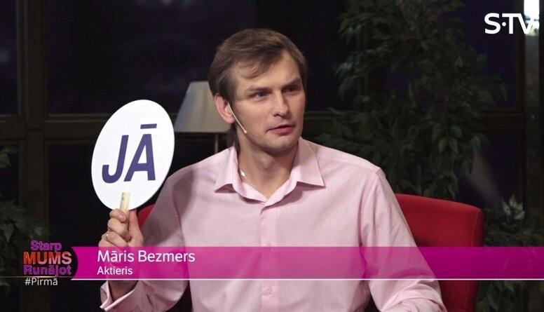 Par ko sevi kritizē Māris Bezmers?