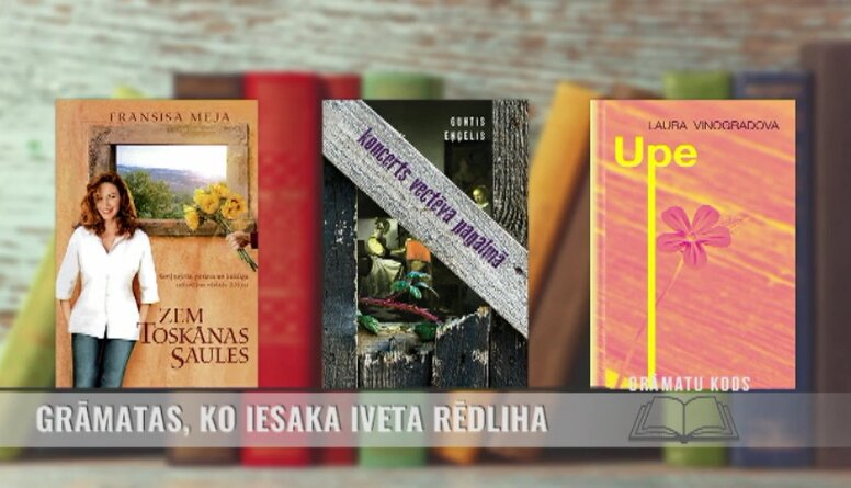 Grāmatas, ko iesaka Iveta Rēdliha