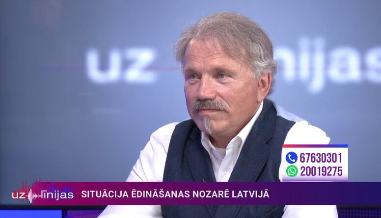 Gunārs Ķirsons par situāciju ēdināšanas nozarē Latvijā
