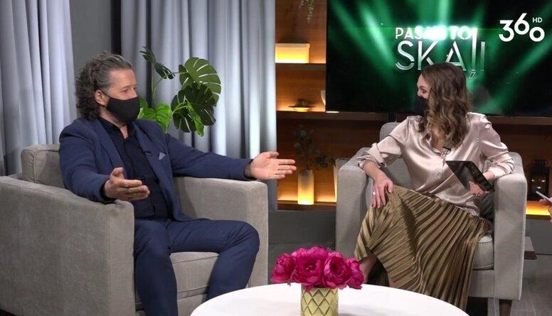 Agris Daņiļevičs par karjeras sākumu : Domāju, ka no malas es biju pilnīgi traks!