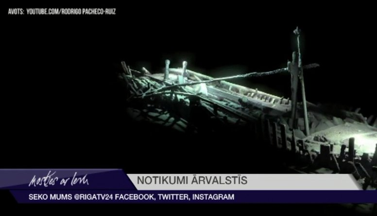 Baltijas jūrā atrasts Renesanses laikmeta kuģis