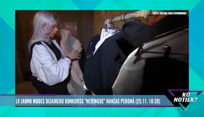 """Latvijas jauno modes dizaineru konkurss """"Meringue"""""""