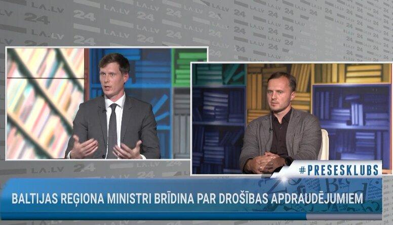 Baltijas reģiona ministri brīdina par drošības apdraudējumu