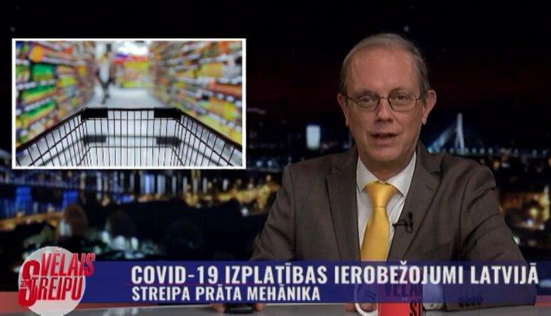 Streipa prāta mehānika: Covid-19 izplatības ierobežojumi Latvijā